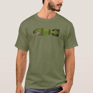 Bomb Face Graphic Art T-Shirt