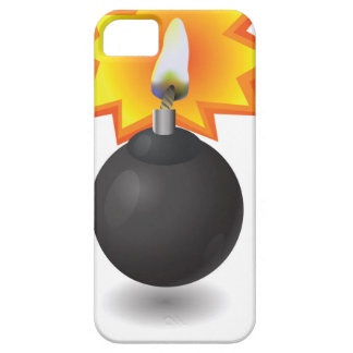 Bomb Icon iPhone 5 Cover