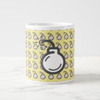 Bomb Icon Large Coffee Mug