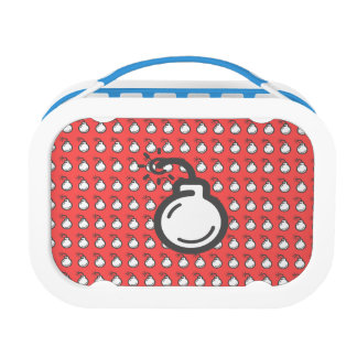 Bomb Icon Lunch Box