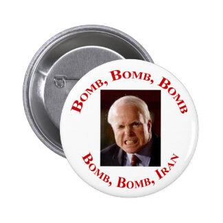 Bomb Iran 2 Inch Round Button