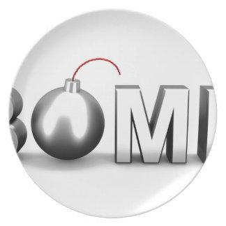 Bomb Plate
