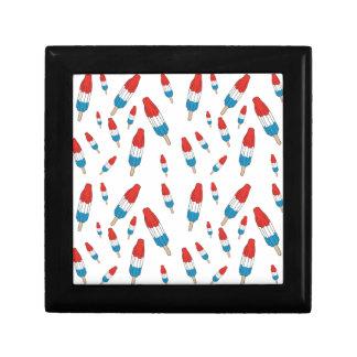 Bomb Pop Pattern Jewelry Boxes