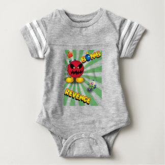 Bomb Revenge Baby Bodysuit