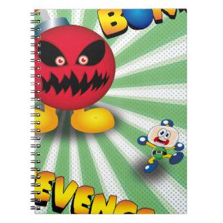 Bomb Revenge Notebook