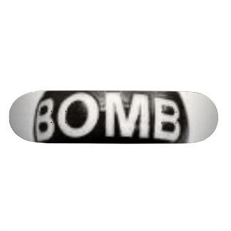 bomb skateboard decks