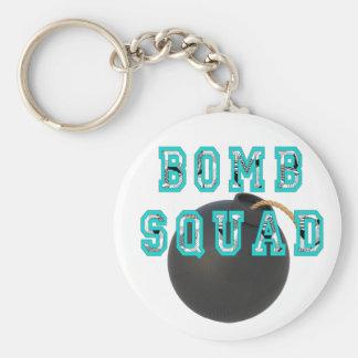 Bomb Squad Basic Round Button Keychain