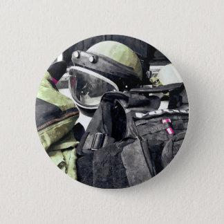 Bomb Squad Uniform 2 Inch Round Button