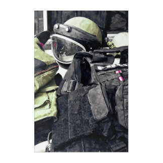 Bomb Squad Uniform Acrylic Wall Art
