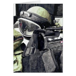 Bomb Squad Uniform Card