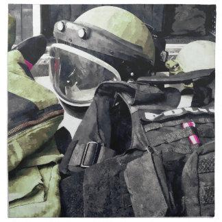 Bomb Squad Uniform Napkin