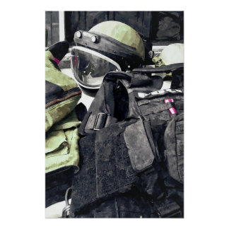 Bomb Squad Uniform Poster