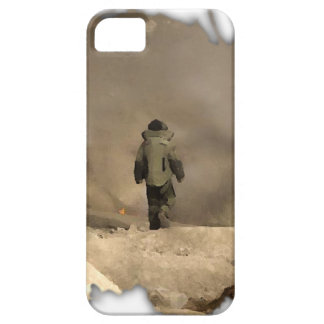 Bomb Suit walking iPhone 5 Case