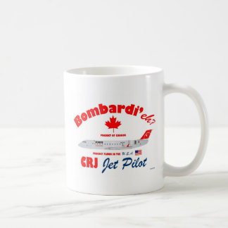 Bombardi'eh Pinnacle CRJ Mug