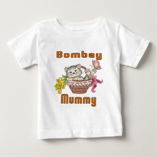 Bombay Cat Mom Baby T-Shirt