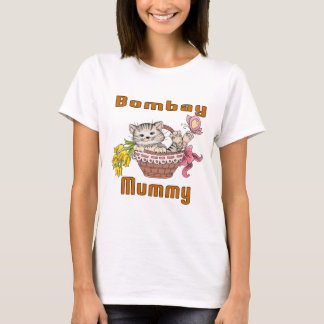 Bombay Cat Mom T-Shirt