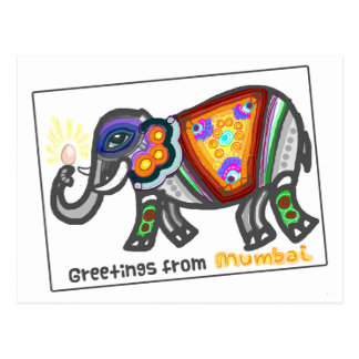 Bombay greetings postcard