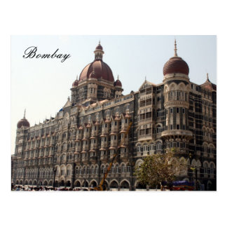 bombay hotel postcard