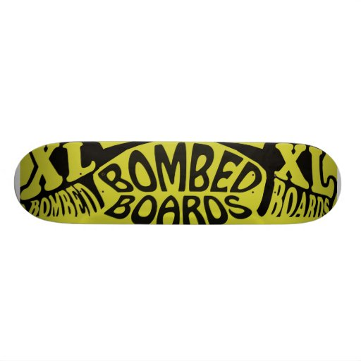 Bombed Extra Legendary/Black/Gold Skate Deck