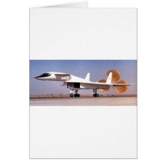 bomber aircraft card