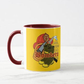 Bombero Custom Name Firefighter mug