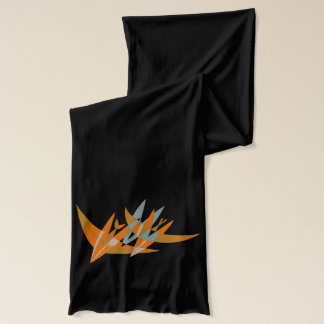 Bombs Away! Abstract Retro Fighter Planes Scarf
