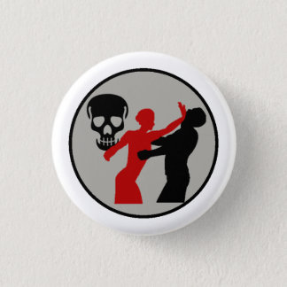 Bombshell Scout Self Defense Merit Badge 1 Inch Round Button
