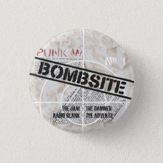 Bombsite Fanzine No, 1 cover 1 Inch Round Button
