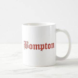 Bompton red coffee mug