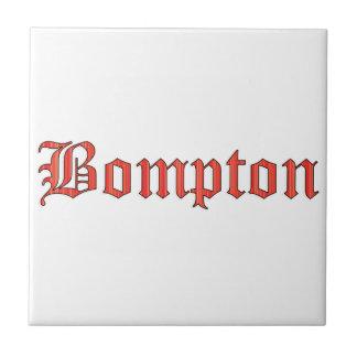 Bompton red tile