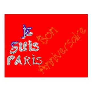 """Bon Anniversaire """"Joyeux Anniversaire"""" Je Suis Par Postcard"""