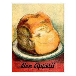Bon Appetit Bread Recipe Card Postcard