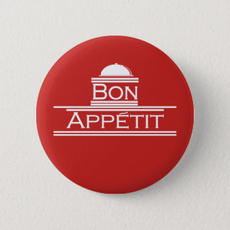 Bon Appetit-Enjoy Your Meal 2 Inch Round Button