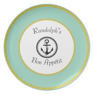 Bon Appétit _Template_Title_Name-Nautical_ Plate