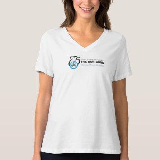 Bon-Bon 75th Anniversary Tshirt - White with logo