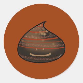 Bon Bon chocolate Round Sticker