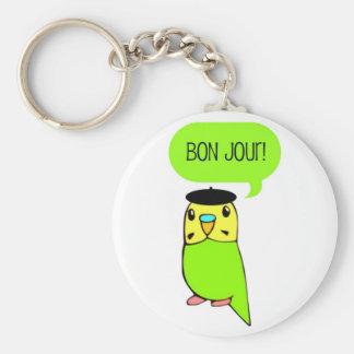Bon Jour! Key Chains