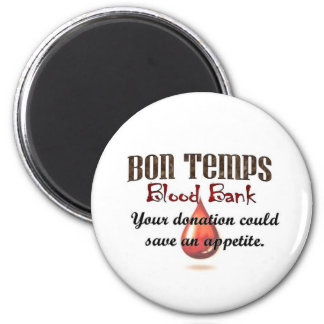 Bon Temps Blood Bank Magnet