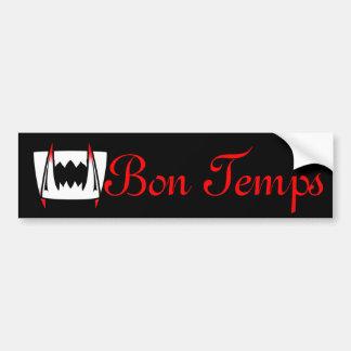 Bon Temps est 1803 Car Bumper Sticker