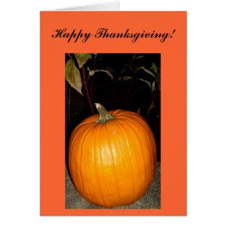 Bon thanksgiving ! Carte