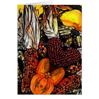 Bon thanksgiving ! carte de vœux
