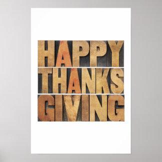 Bon thanksgiving - cru poster