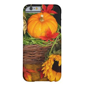 Bon thanksgiving de récolte d'automne coque iPhone 6 barely there