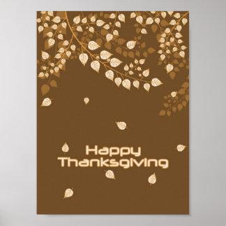 Bon thanksgiving poster