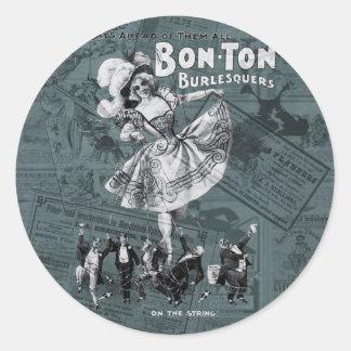 Bon-ton Round Sticker