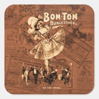 Bon-ton Square Sticker