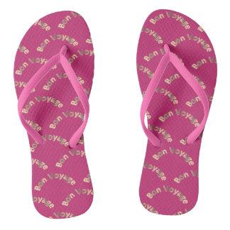 Bon Voyage 02 Pattern Flip Flops
