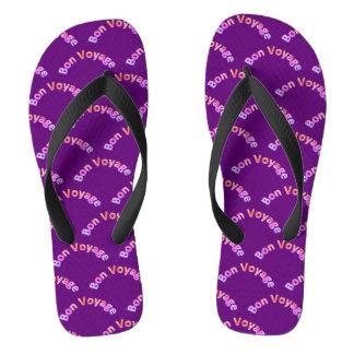Bon Voyage 2P Pattern Flip Flops