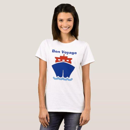 Bon Voyage, add text T-Shirt