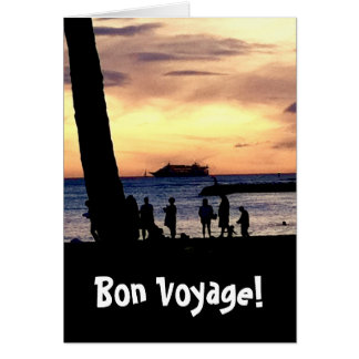 Bon Voyage! Card